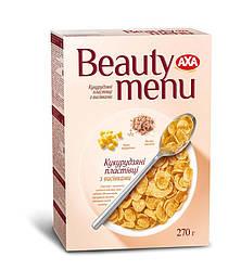 Розпродаж -20% Кукурузные хлопья с отрубями АХА Beauty menu 270г