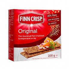 Сухарики ржаные Original FINN CRISP 200 г