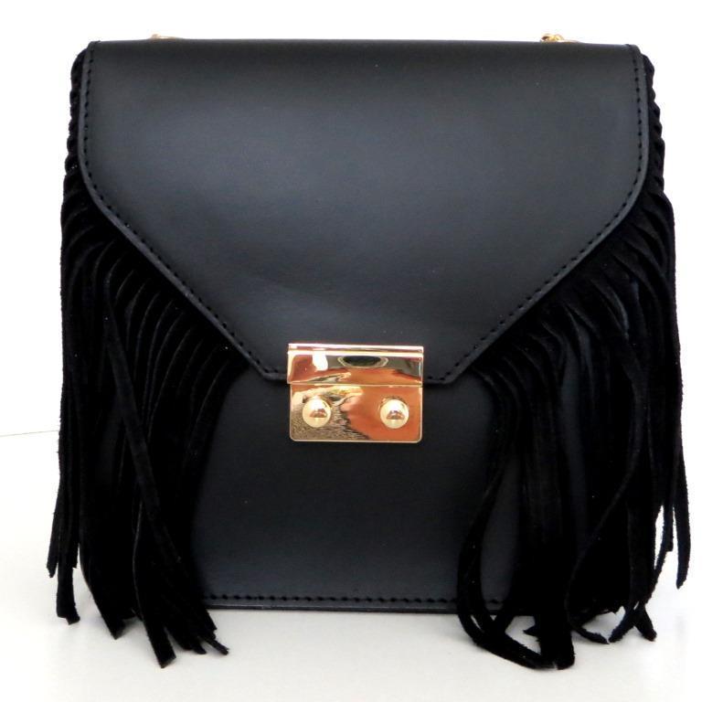 Жіноча маленька сумочка  . Італія 100% натуральна шкіра . Чорна