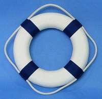 Круг спасательный диаметр 65х40 см синий