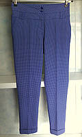 Женские брюки легкие в мелкий рисунок