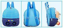 Сказочные детские рюкзаки с кроликом в кармане, фото 3