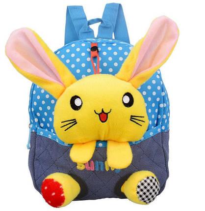 Сказочные детские рюкзаки с кроликом в кармане, фото 2