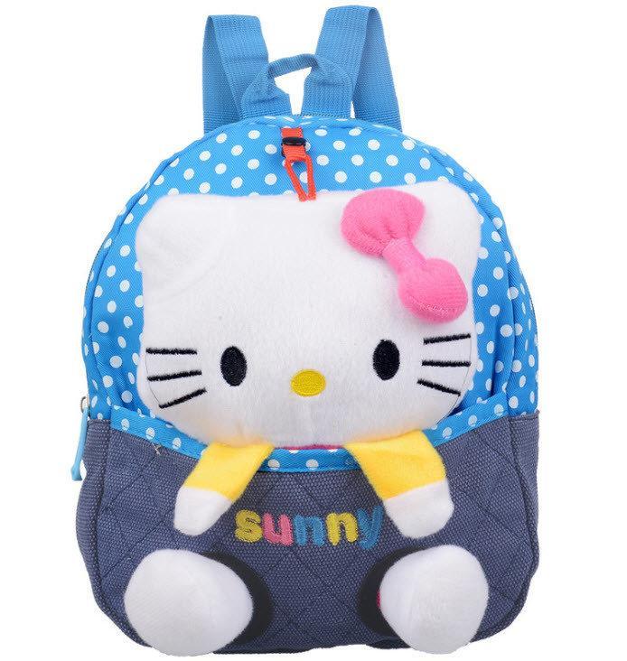 Сказочные детские рюкзаки с котиком в кармане
