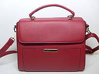 Каркасная женская сумка YIRUI красного цвета