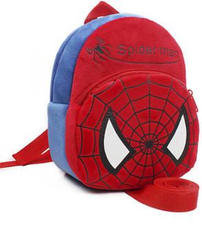 Милые мультяшные детские рюкзаки Человек Паук, фото 2