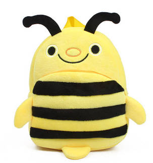 Милые мультяшные детские рюкзаки пчела, фото 2