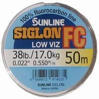 Флюорокарбон Sunline SIG-FC 50м 0.550мм 17кг поводковый
