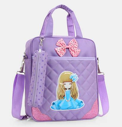 Удобные рюкзаки для учебы с принтами Девочки, фото 2