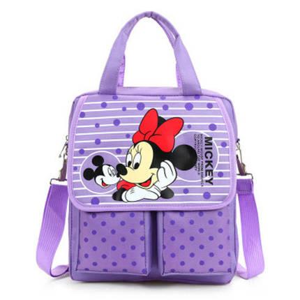 Зручні рюкзаки для навчання з принтами Мінні Маус, фото 2