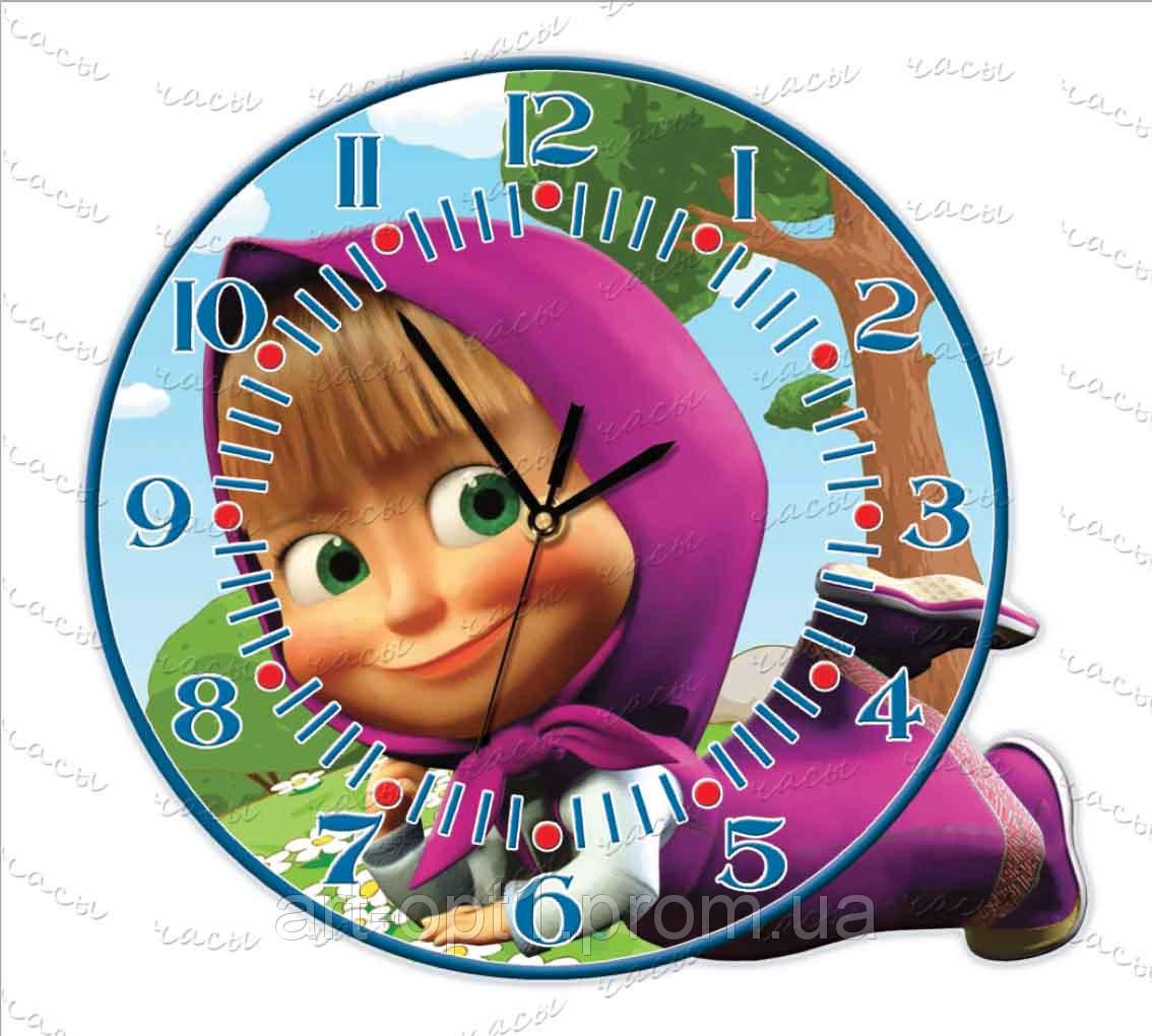 """Часы детские """"Маша и медведь"""""""