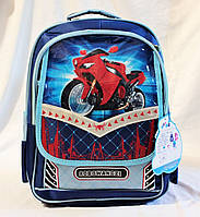 Школьный ранец ортопедический + Пенал 3, 4, 5 класс. Для мальчиков. Рюкзак, портфель для школы