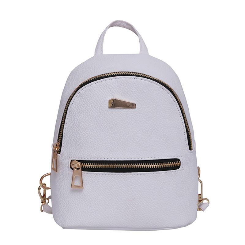 cbd5697d178d6 Модный стильный нежный маленький рюкзак ,белый, качество !!! - Интернет  магазин