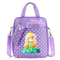 Удобные рюкзаки для учебы с принтами Девочки