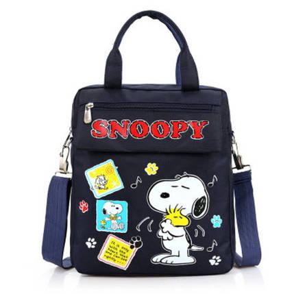 Удобные рюкзаки для учебы с принтами Snoopy, фото 2