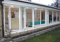 Металлопластиковые складные двери и окна типа гармошка. Заказать систему складные пластиковые, алюминиевые