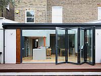 Металлопластиковые складные окна двери - гармошка для Беседки, Веранды и на терассу. Заказать складные