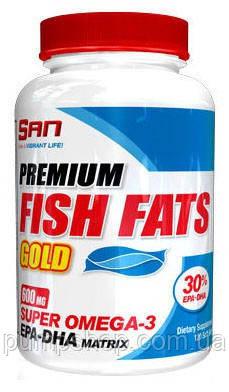 Омега-3 San Nutrition Premium Fish Fats Gold 120 капс., фото 2
