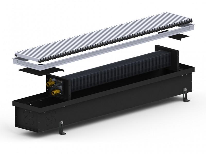 Конвектор внутрип. 4S (Black) 180/1250/120 Carrera