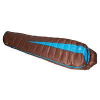 Спальный мешок Sir Joseph Paine 400/190/-5°C Brown/Turquoise (Left)