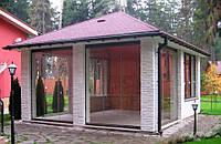 Раздвижные конструкции Окна Двери для беседки, терассы и веранды. Схемы раздвижных оконных и дверных систем