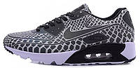 Мужские кроссовки Nike Air Max 90 Light Reflection (найк аир макс) серые