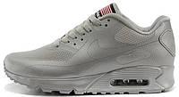 Мужские кроссовки Nike Air Max 90 Hyperfuse (найк аир макс 90) серые