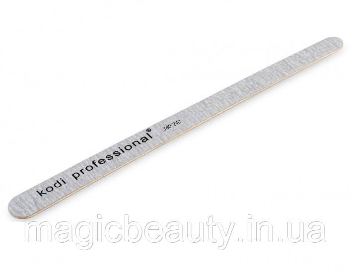 Пилка Kodi Professional Капелька  Grey 180/240