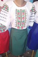 Женский вышитый костюм Борщивка