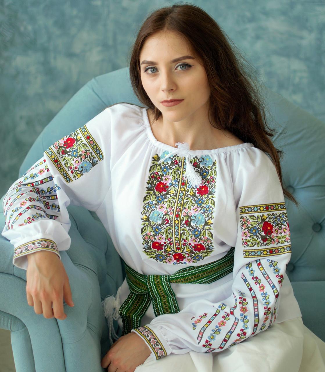 Вишиванка (домоткане полотно) - Студія дитячої вишивки
