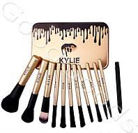 Кайли кисти для макияжа 12 штук Профессиональный набор