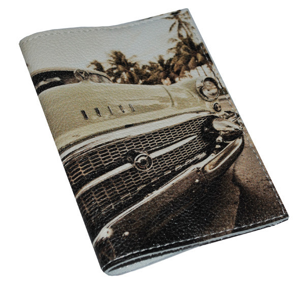 Кожаная мужская обложка для паспорта -Бьюик-