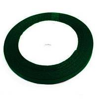 Лента атласная т.зеленый-бутылочный 0.5см