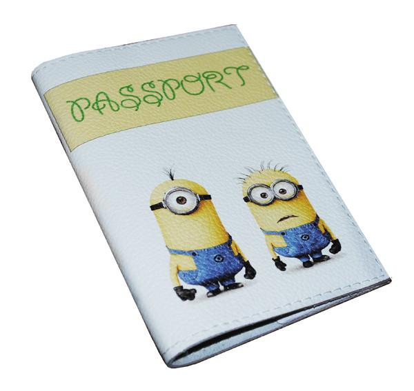 Обложка  для паспорта  -Миньоны-