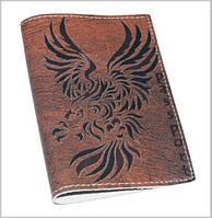 Обложка мужская для паспорта -Drakon-