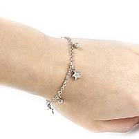 Браслет с серебристыми звездочками Арт. BS022SL, фото 5