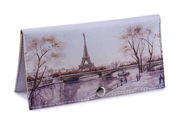 Женский Кошелек -Осенний Париж-. Ручная Работа, фото 2