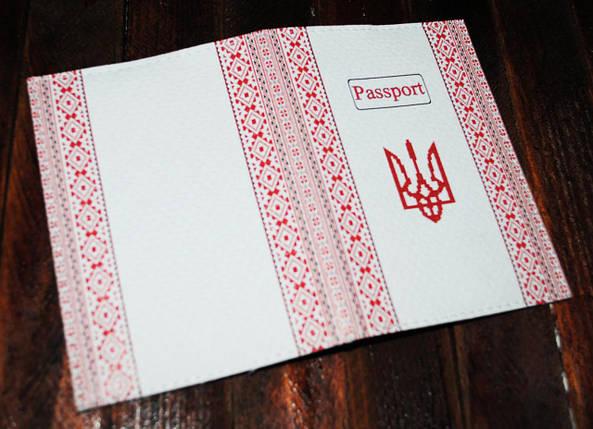 Обложка на паспорт Украина -Вышиванка-, фото 2