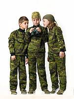 Костюм детский для мальчиков Зарница камуфляж Мультикам Тропик