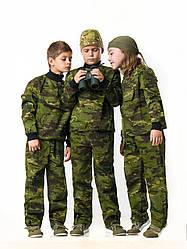 Костюм детский камуфляжный для мальчиков Зарница цвет Мультикам Тропик