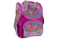 Рюкзак шкільний каркасний для дівчинки WILLY SWEET BUTTERFLIES WL-853 33*25*14 см