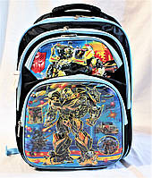 Школьный рюкзак ортопедический Трансформеры для мальчиков. Портфель ранец для школы 3, 4, 5 класс