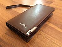 Портмоне Baellerry Classic коричневый мужской клатч супер кошелёк BC5k
