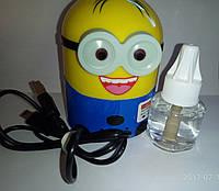 Фумигатор с USB-портом+жидкость в подарок