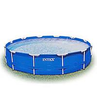 Бассейн каркасный Intex 28200, 305-76 см, 4485 л, семейный, круглый, синий