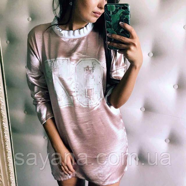 модное платье-туника