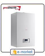 Котел газовый Protherm Пантера (Panther) 30 KTV (30 кВт, турбированный, двухконтурный)