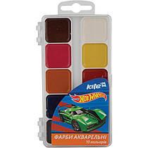 Фарби акварельні Hot Wheels, 10 кольорів