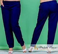 Летние женские брюки с карманами, батал