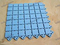 Противоскользящий ковер Аква цвет голубой для бассейнов и влажных помещений